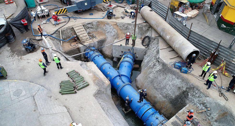 Sedapal anuncia que ya se restableció el servicio de agua en 20 distritos de Lima