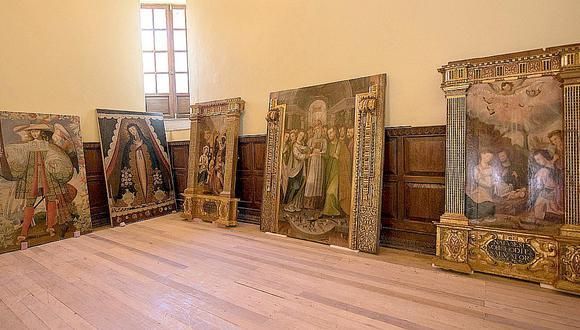 Invaluables lienzos de la época colonial son restaurados en Cusco (FOTOS)