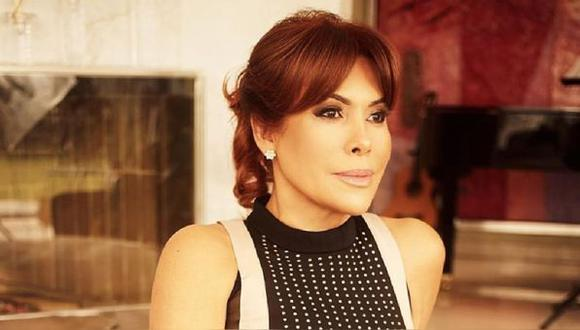 Conductora de televisión no tuvo reparos en criticar a Rebeca Escribens por su forma de conducir 'América Espectáculos'