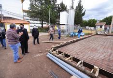 Inspeccionan trabajos de implementación ante la llegada de planta de oxígeno en Cusco