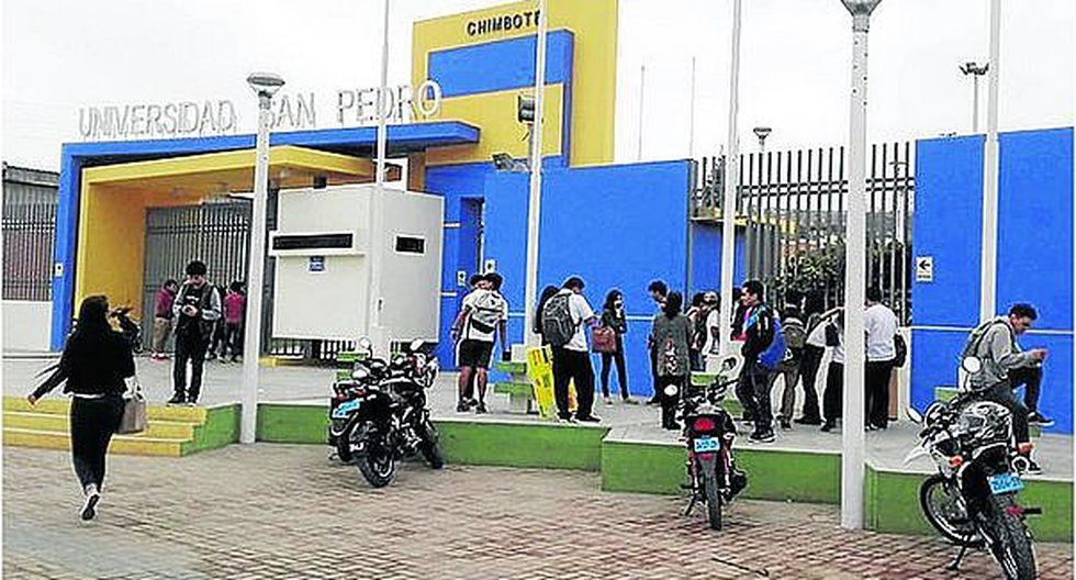 Sunedu deniega licenciamiento a la Universidad San Pedro