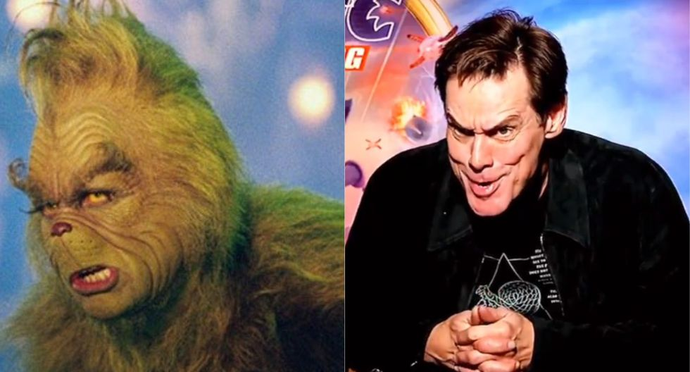 "Jim Carrey habló de cómo fue interpretar al ""Grinch"". (Foto: Universal Pictures / Captura Twitter)"