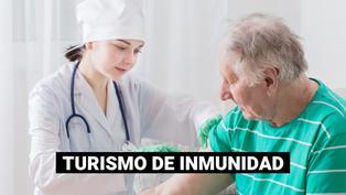 Extranjeros viajan a Estados Unidos para vacunarse contra la COVID-19