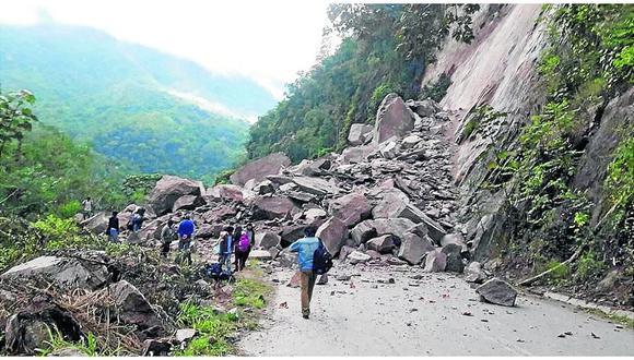 En Junín, 40 mil personas viven expuestos a posibles deslizamientos y huaicos
