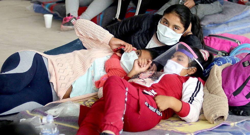 COVID-19: no se registró mayor salida de menores en Cusco  (FOTOS)