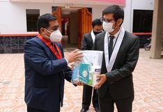 Juliaca: Entregan kits de bioseguridad a trabajadores de la Corte