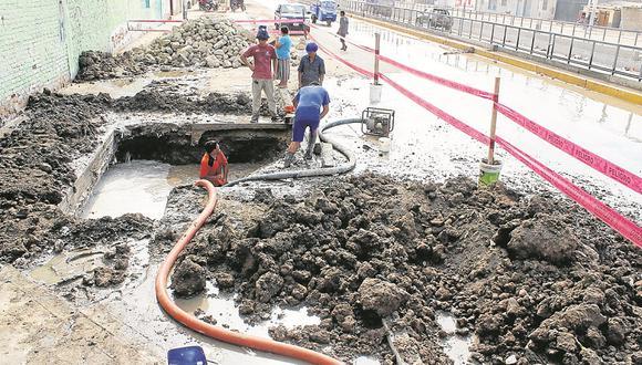 Gobierno regional deja sin agua a distrito de José Leonardo Ortiz