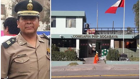 El mayor PNP Luis Padilla Arpita, jefe de la comisaría de Socabaya pedía un ventilador. Dos semanas antes perdió a su madre a causa del coronavirus
