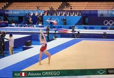 Ariana Orrego terminó su participación en gimnasia en los Juegos Olímpicos Tokio 2020 (VIDEO)