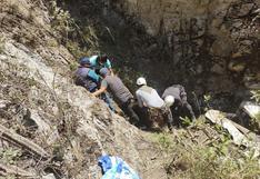 Huancavelica: Cadáver de mujer terminó entre fierros retorcidos