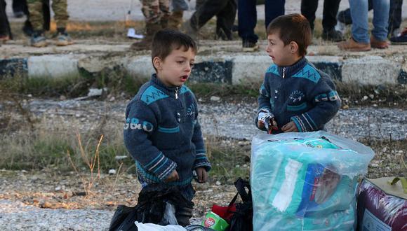 ONU alertó que hay todavía 50 mil habitantes en Alepo