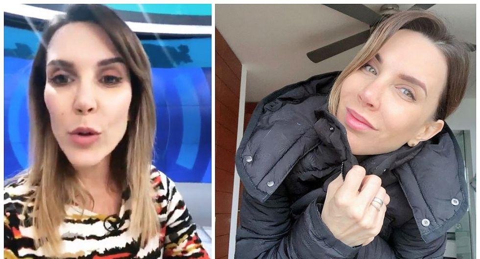 Juliana Oxenford responde en redes sobre su supuesta salida de Latina (FOTO)
