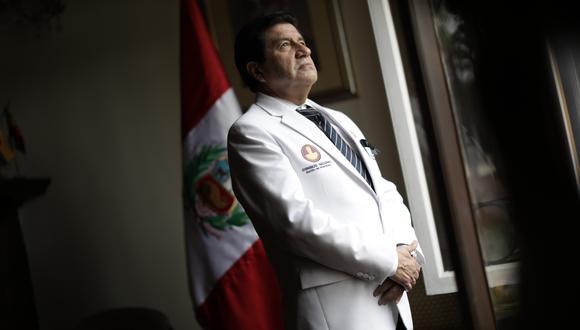 Miguel Palacios asegura que el Perú no está preparado para una segunda ola.  (Foto: Anthony Niño de Guzmán)
