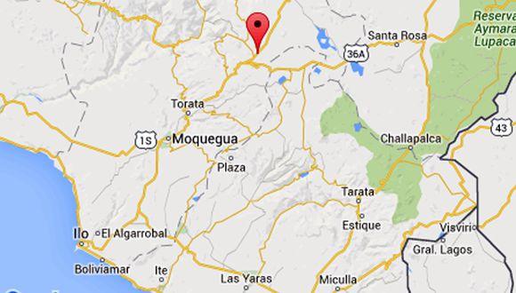 Moquegua: Sismo de 4 grados se registró en el distrito de Calacoa
