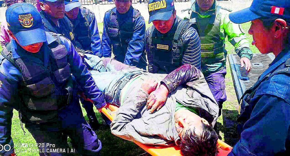 Delincuentes armados matan a joven en vía Juliaca - Sandia