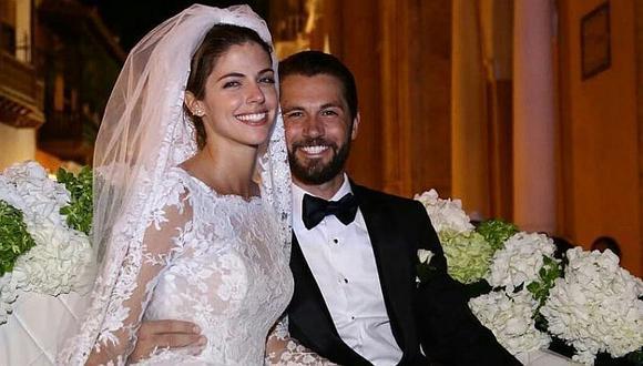 """La  actriz y su esposo, que se dieron el """"Sí"""" en una fastuosa boda en Colombia en 2018, habrían decidido finalizar su relación de más de ocho años hace algunos meses, según revelaron fuentes cercanas a la pareja a la Revista Cosas."""