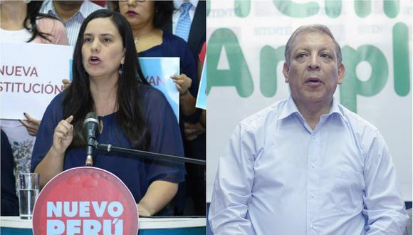Nuevo Perú y Frente Amplio ratifican apoyo al dictador Nicolás Maduro