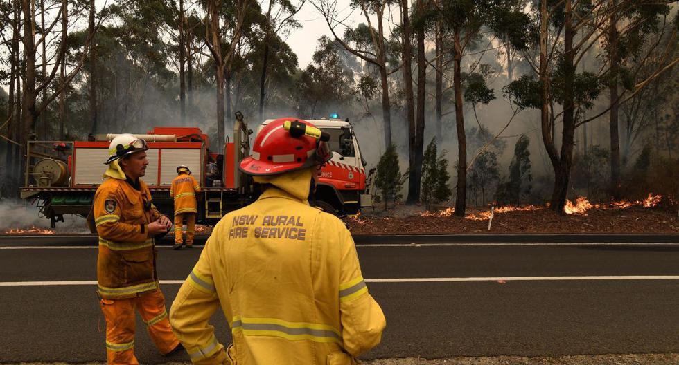 Alrededor de 15 millones de australianos se vieron afectados indirectamente por estos incendios. (EFE)
