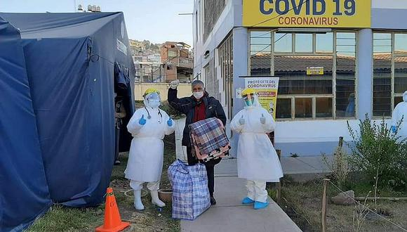 Más de 15 mil pacientes con COVID-19 se recuperan en Puno