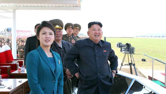 Ri Sol-ju. (Foto: AFP)