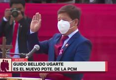 Guido Bellido es el presidente del Consejo de Ministros del gobierno de Pedro Castillo