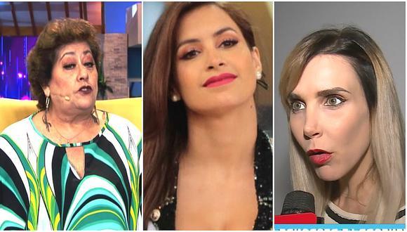 Mamá de Milett Figueroa arremete contra Juliana Oxenford por críticas a su hija (VIDEO)