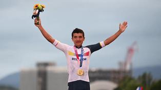 Tokio 2020: Richard Carapaz consigue histórica medalla de oro para Ecuador en ciclismo de ruta