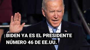 Joe Biden hace un llamado a la unidad en su primer discurso como presidente de los Estados Unidos