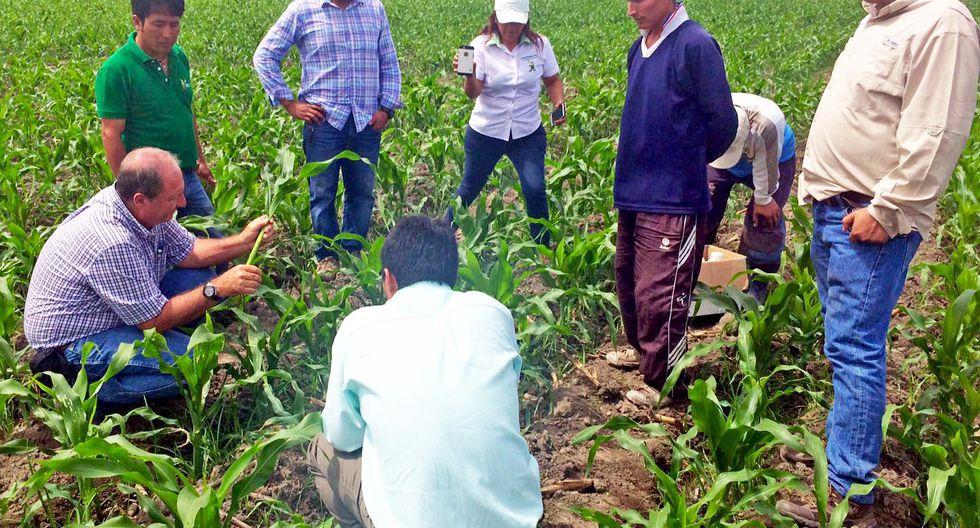 Capacitan a agricultores por el cambio climático