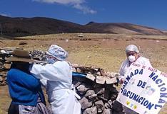 Huancavelica: El lunes comienza vacunación a adultos mayores