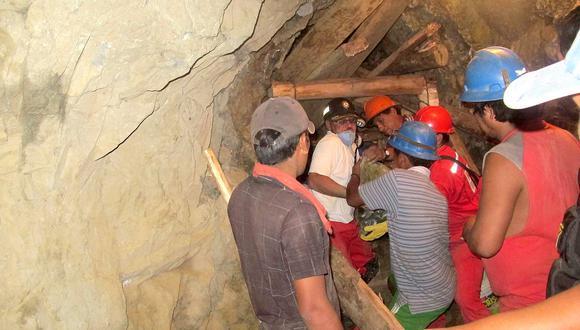 Ministerio de Energía y Minas registra 6 muertos en minas del país en lo que va del año