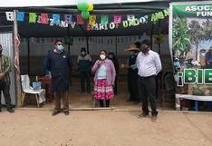 Agricultores de Pampa Layagache recordaron 21 años de creación