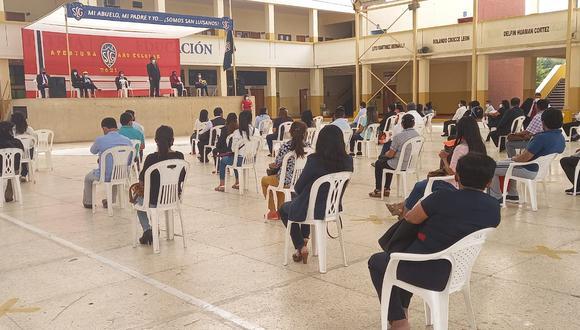 En el colegio San Luis Gonzaga inició el Buen Retorno al Año Escolar 2021 en la región Ica