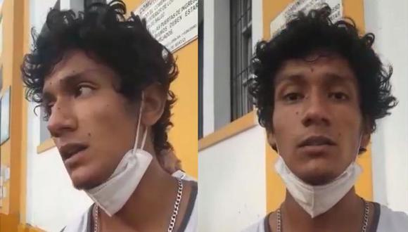 Luis Fernando Araujo Enríquez fue hallado el último martes en el hospital Dos de Mayo, luego de tres días de ser reportado como desaparecido. (Foto: Captura de video/Aprodeh/Twitter)