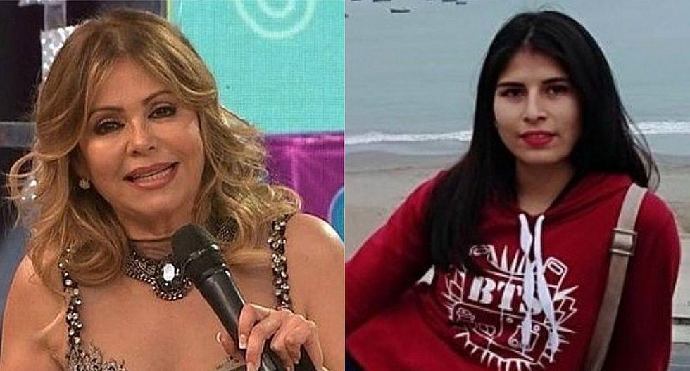 Gisela Valcárcel se pronuncia tras la muerte de Eyvi Ágreda (VIDEO)