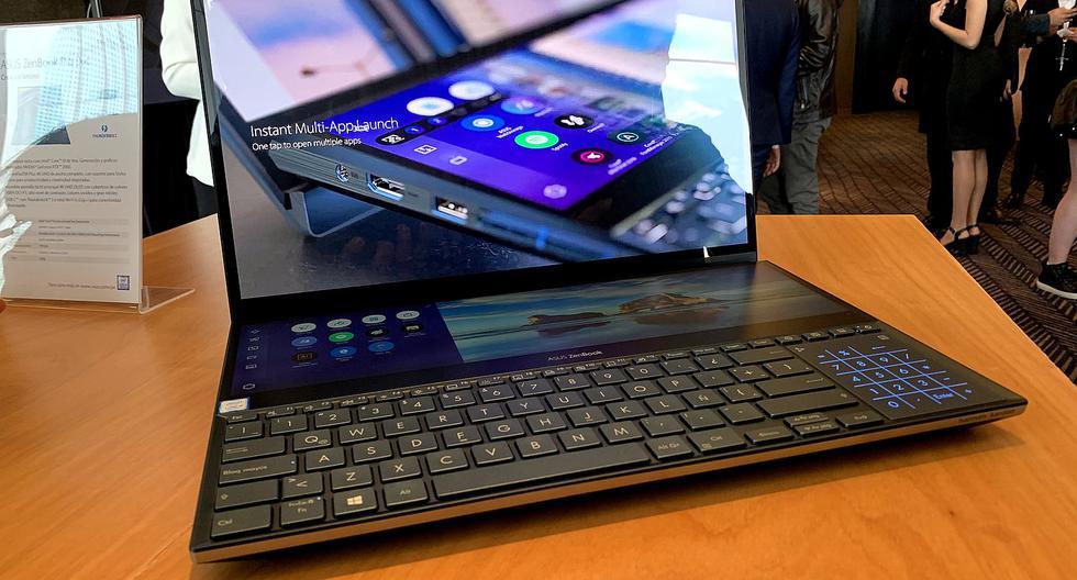 Llega a Perú la ZenBook Pro Duo la laptop de doble pantalla
