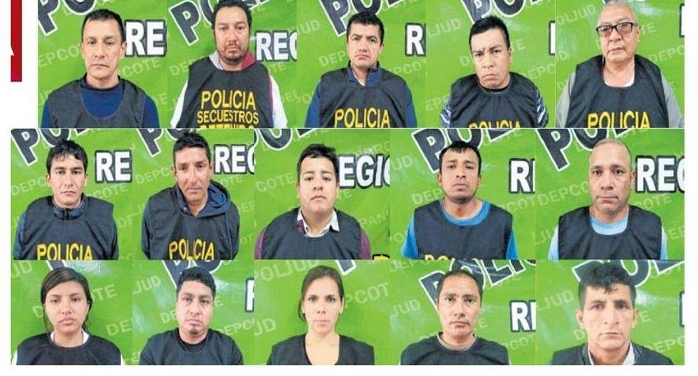 """Capturan a 19 integrantes de la red criminal """"Los Monos de San Antonio"""""""