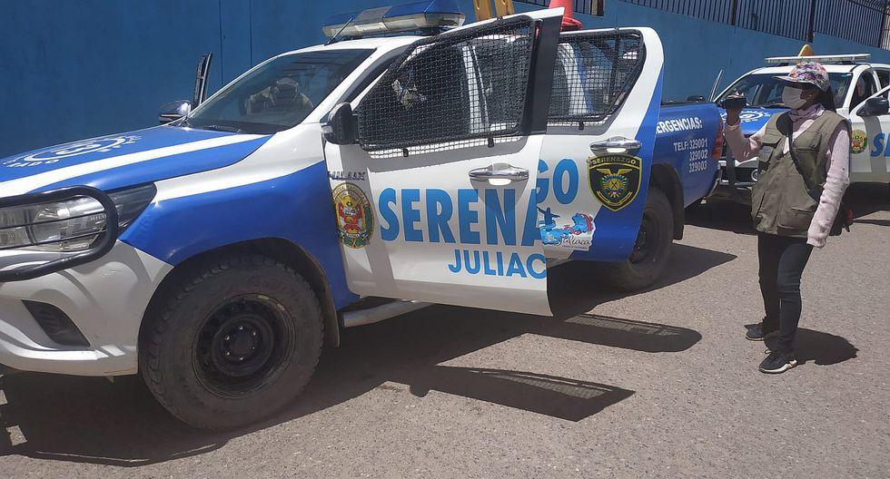 JULIACA: Agente de serenazgo en cuarentena por sospecha de covid-19