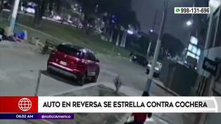 Callao: Conductor arranca en reversa y se estrella contra una vivienda