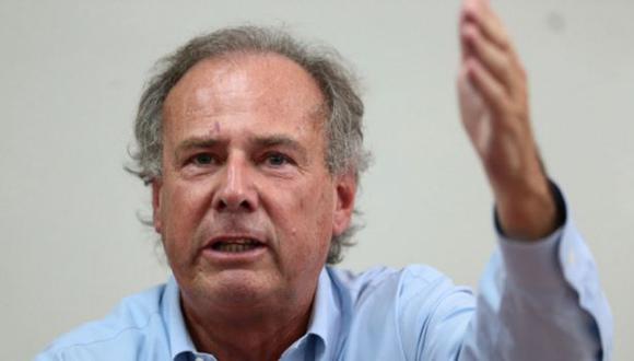 Alfredo Barnechea anuncia su precandidatura presidencial por Acción Popular. (Foto: Andina)