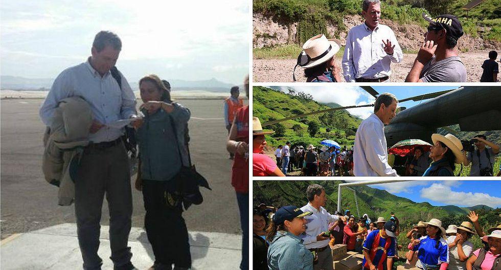 Ministros llegan a Chimbote para supervisar entrega de ayuda humanitaria
