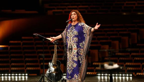 La cantautora peruana Lourdes Carhuas Rivera dará un concierto virtual y gratuito este jueves 25 de marzo (Foto: GTN)