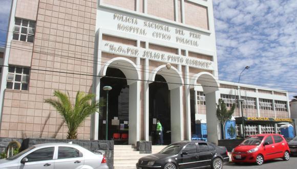 Policía permaneció internado en el hospital desde el 13 de marzo