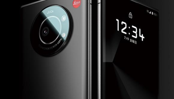 El diseño de Leitz Phone 1 sigue la línea de las cámaras Leica, con un cuerpo de metal y una parte trasera de cristal y acabado mate y el logo de la empresa grabado a la derecha de la cámara principal. (Leica / Europa Press)