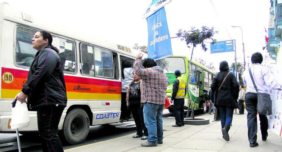 Corredor Azul: Tres distritos piden cambios en rutas