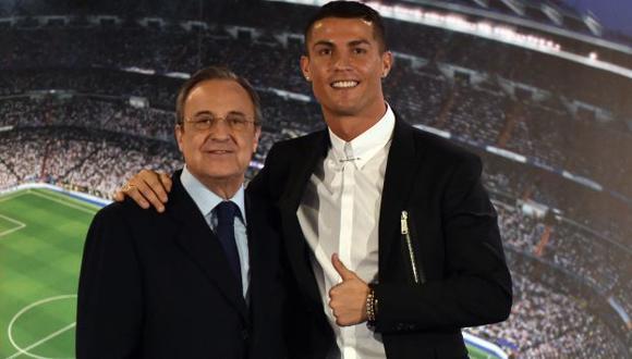 Florentino Pérez apuntó a Cristiano Ronaldo y José Mourinho y los llenó de críticas. (Foto: AFP)