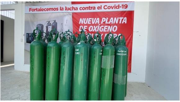 Gobierno Regional de Piura apoya con la recarga de balones de oxígeno y traslado hasta la región liberteña.