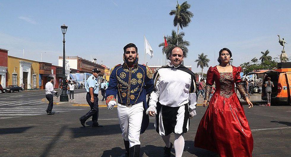 Con pasacalle se da inicio a las actividades por Independencia de Trujillo (FOTOS)