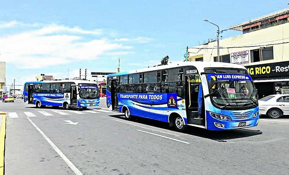 San Luis Express ofrece 98 unidades en circulación a fin de año