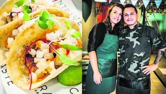 El chef peruano Angelo Aguado y su pareja, Godelieve Monty, llegaron al Perú de vacaciones unas semanas antes de que empiece la pandemia